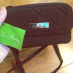 New with tags Vera Bradley wristlet.